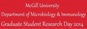 MicroImmuno Graduate Student Research Day - May 16