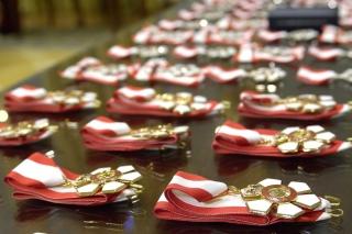 Order of Canada medals