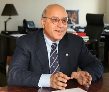 Provost Anthony Masi - Owen Egan cropped