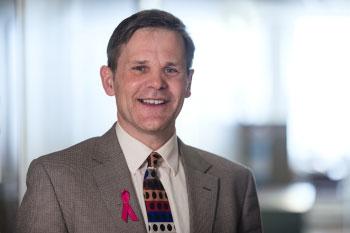 Dr William Foulkes, coauteur de l'étude, qui a dirigé l'équipe de recherche au Québec. Photo: Fondation du cancer du sein du Québec.