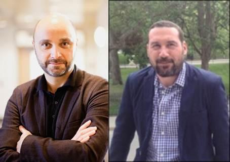 Professeur Sylvain Baillet et Professeur J. Matt Kinsella