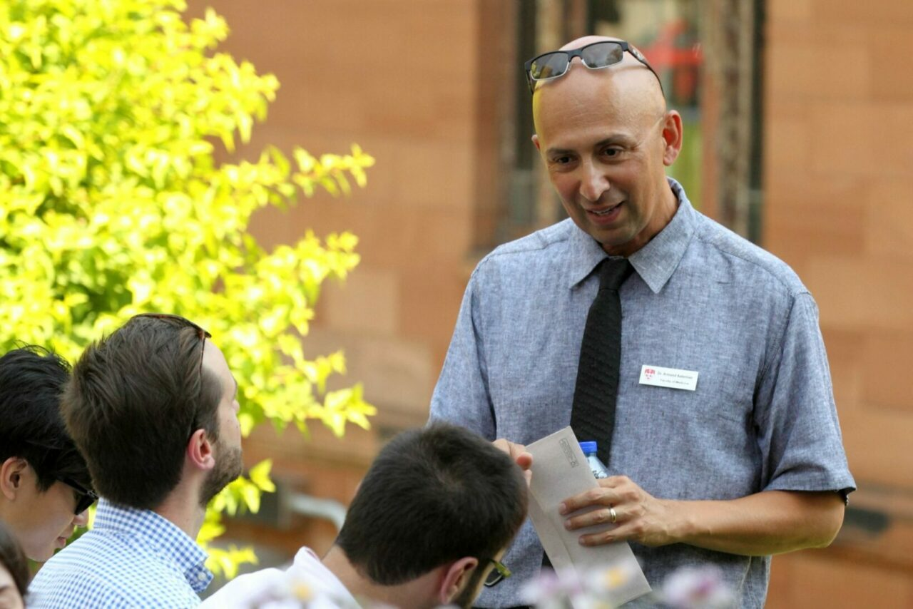 Dr Armand Aalamian (Photo: Owen Egan)