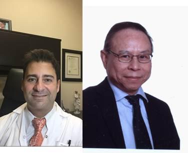 Le Dr Haim Abenhailm (gauche) et le Dr Togas Tulandi