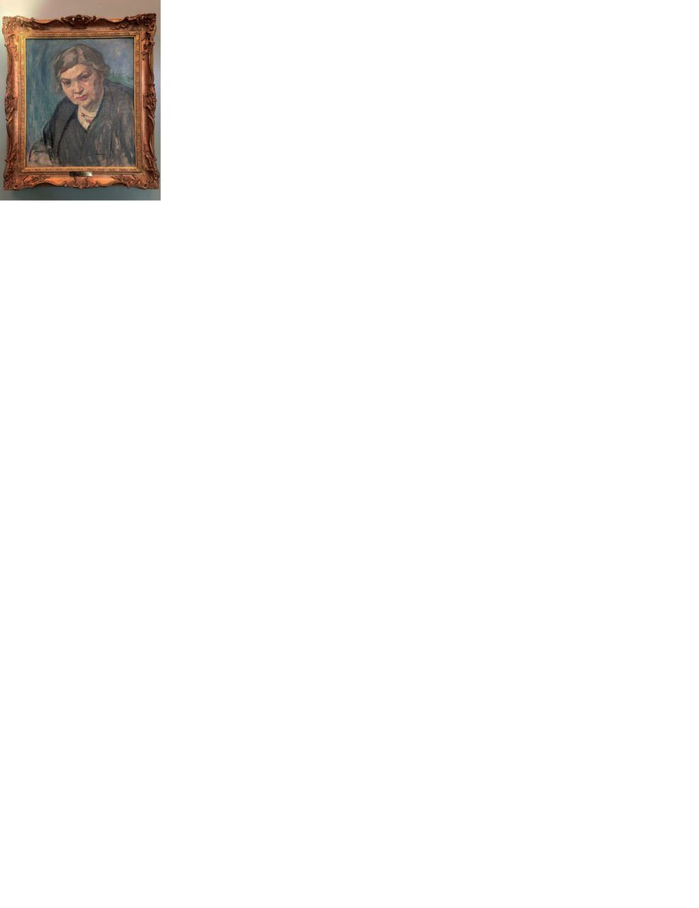 Mary Alexandra Bell Eastlake, Portrait of Maude Abbott, no date, oil on canvas, 20 × 17