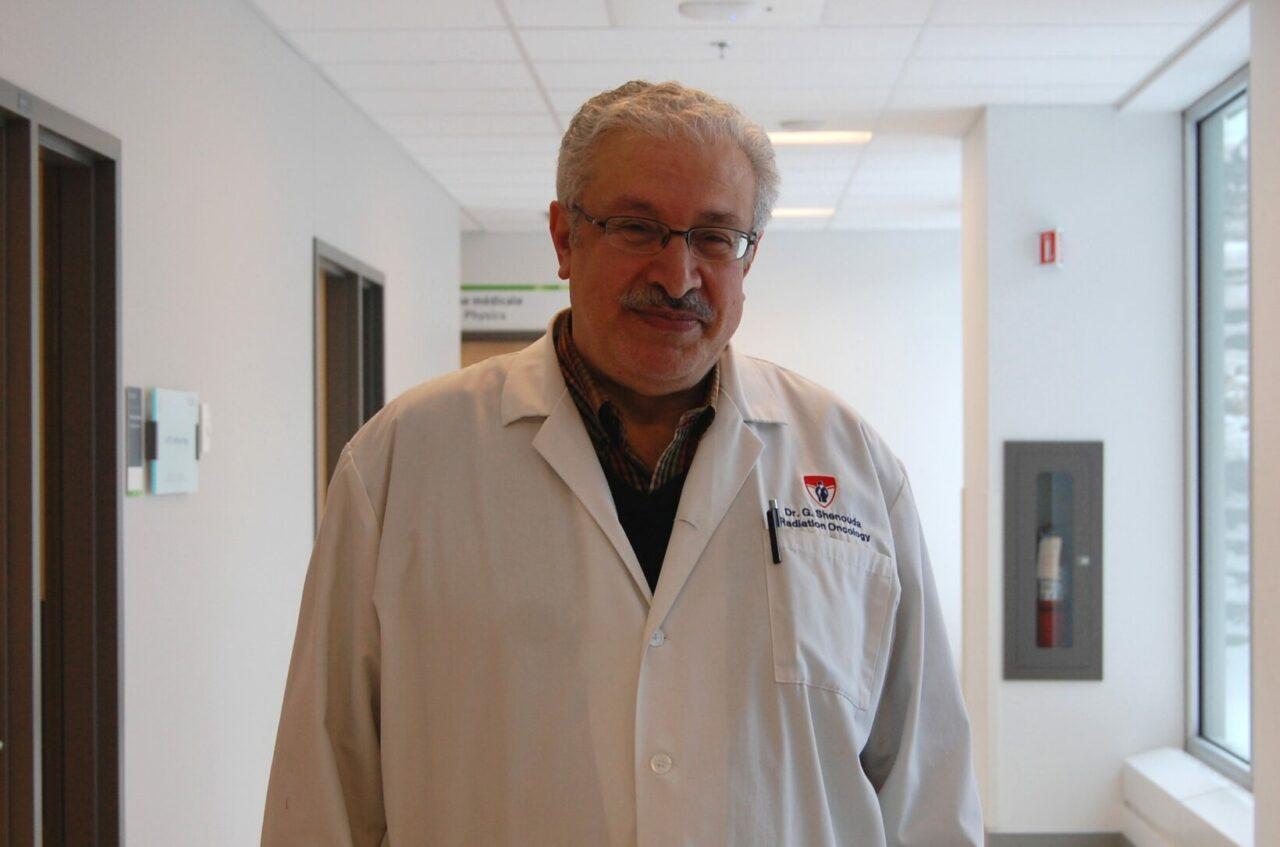 Dr George Shenouda, radio-oncologue et chercheur à l'IR-CUSM et principal auteur de l'étude