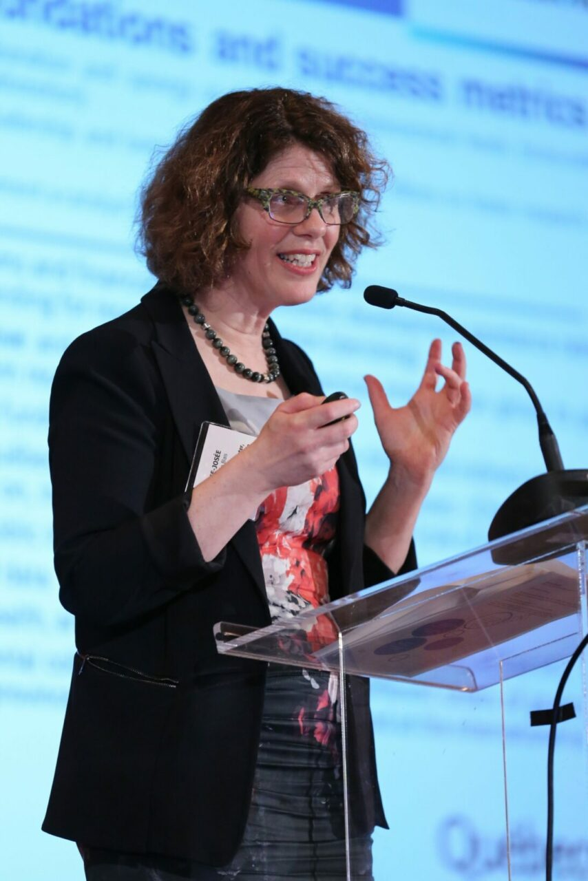 Marie-Josée Blais, sous-ministre adjointe, Science et innovation au ministère de l'Économie, de la Science et de l'Innovation (Photo: Owen Egan)