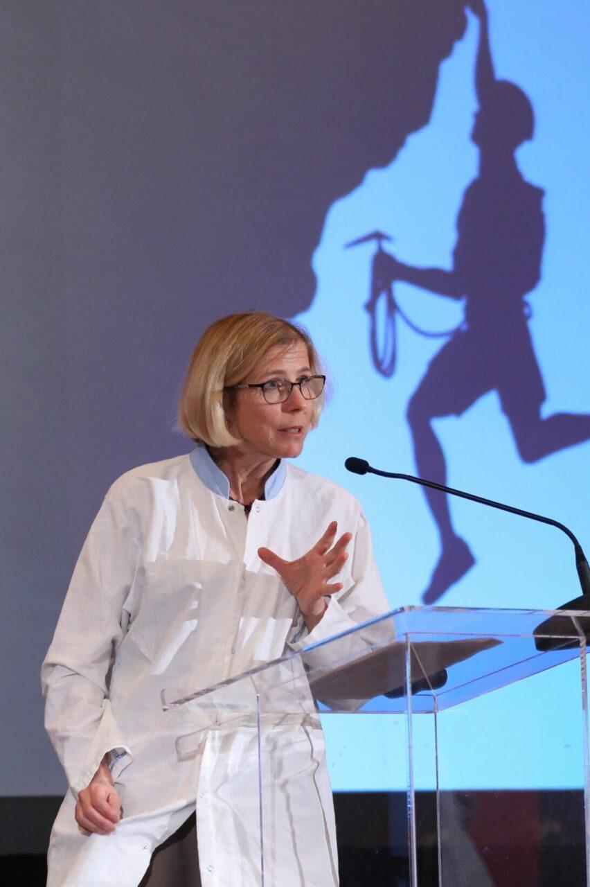 Katrine Kirk, ambassadrice en sécurité des patients de l'Organisation mondiale de la Santé (Photo: Owen Egan)